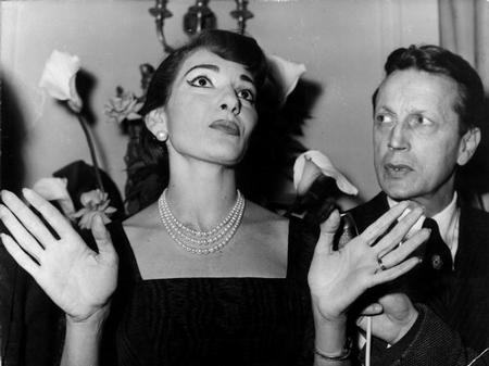 Maria Callas Paris soprano