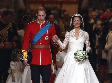 Prince William and Kate Mid