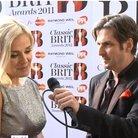 Katherine Jenkins and Jamie Crick at the BRITs