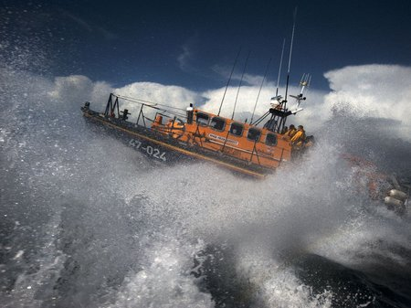 RNLI speed boat
