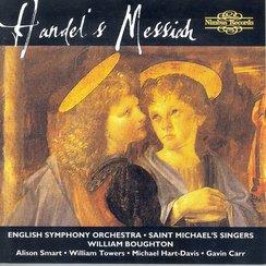 Handel Messiah Soloists Saint Michael's Singers E