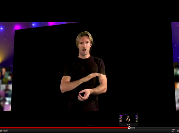 Eric Whitacre Lux Aurumque youtube virtual choir conducting