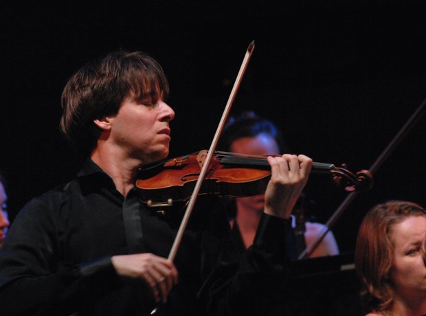 Joshua Bell violinist film scores soundtracks contemporary music
