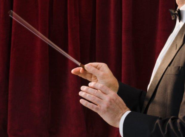 conductor's baton