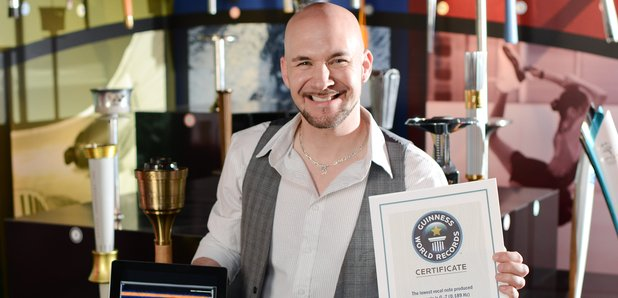 Tim Storms Guinness World Record