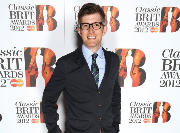 Gareth Malone arrives at the Classic BRITS Launch