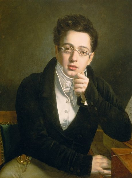 Schubert as a young man