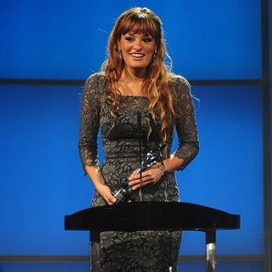 Nicola Benedetti at the Classic BRIT Awards 2012