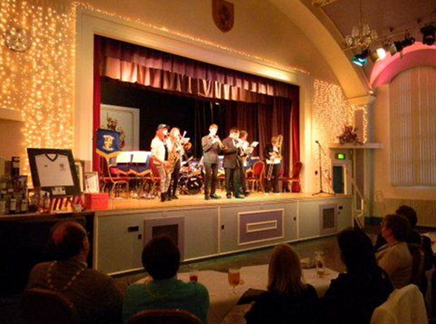 Jazz in my Pants in Spennymoor Town Hall