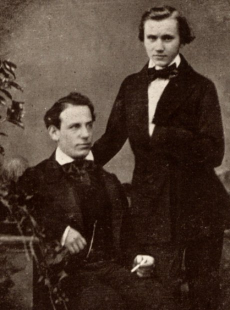 brahms and Eduard Remenyi
