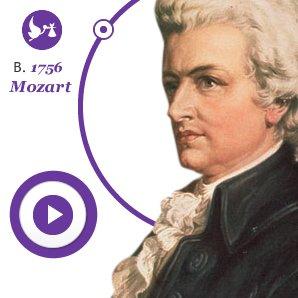 mozart born 1756