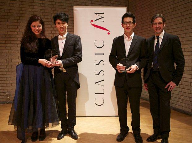 RNCM James Mottram piano comp winners