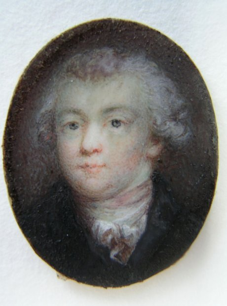 A portrait definitely identified as Mozart