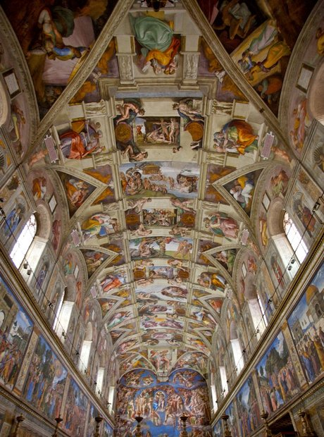 roof of the sistine chapel