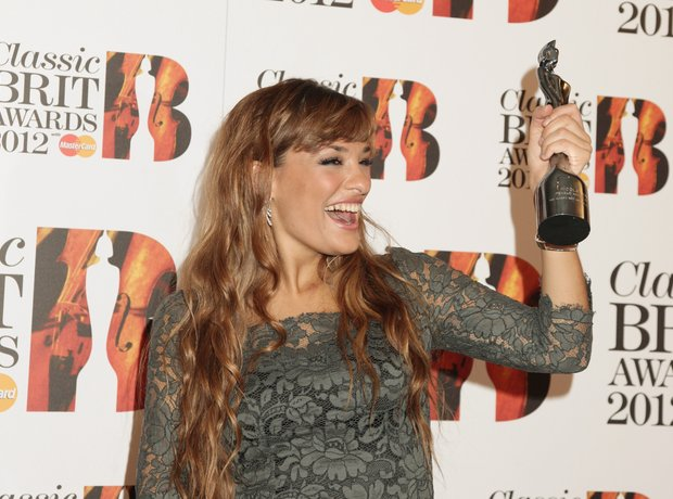 nicola benedetti at the classical brits 2012