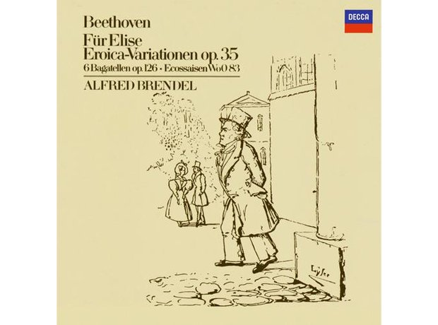 Beethoven, Bagatelle No. 25 (Fur Elise), by Alfred