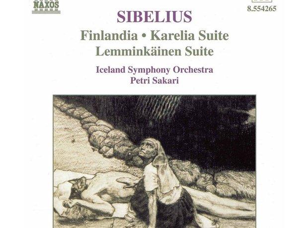 Sibelius Karelia Suite album cover