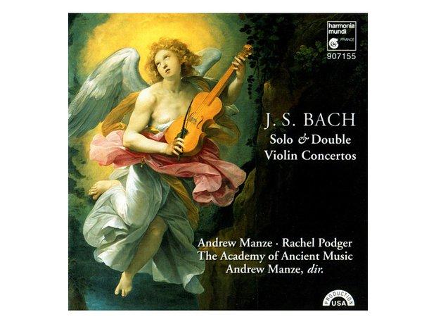 Bach Concerto in D minor for 2 Violins BWV1043 album cover