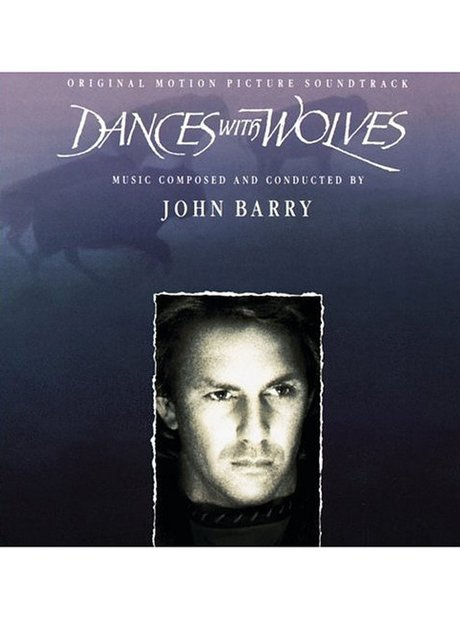 Barry Dances with Wolves (includes John Dunbar album cover