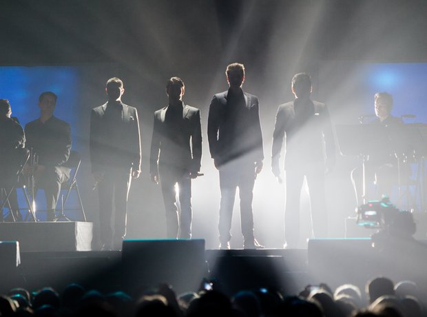 katherine jenkins at the o2 with il divo