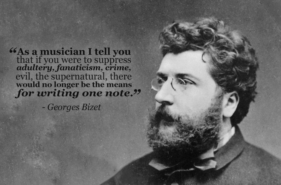 georges bizet 22 inspiring composer quotes classic fm