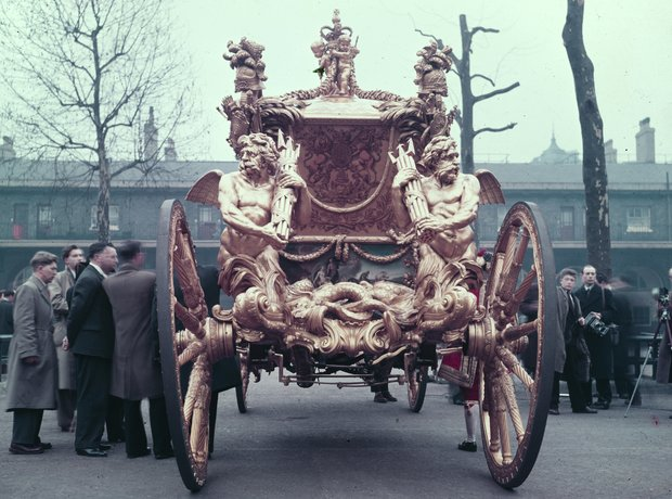 Queen Elizabeth II coronation 1952