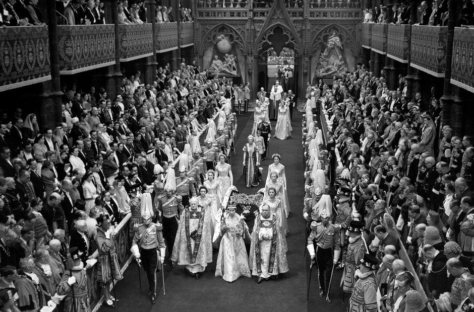 Queen Elizabeth II coronation 1953