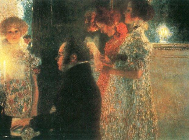 Franz Schubert Gustav Klimt