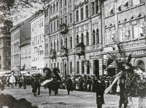 Composer Dvorak funeral