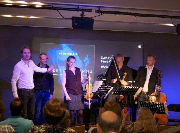 Sven Helbig pop-up concerts