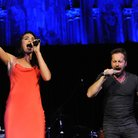 Alfie Boe Laura Wright perform Barcelona