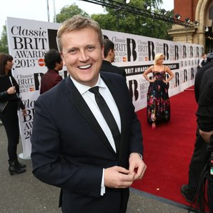 Aled Jones at Classic Brit Awards 2013