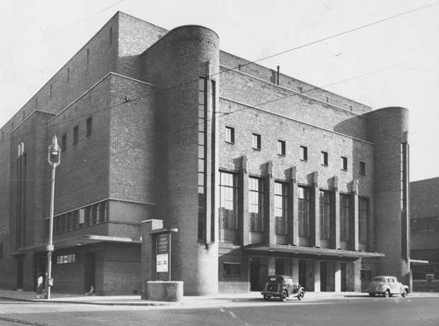Liverpool Philharmonic Hall Rowse