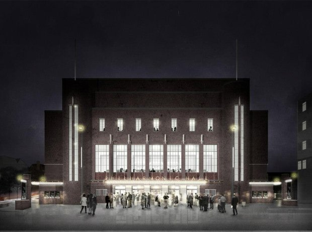 Liverpool Philharmonic Hall refurbishment