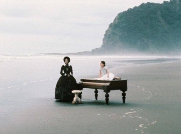 The Piano Holly Hunter Anna Paquin