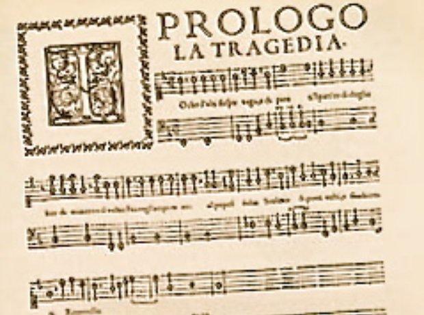 Peri Euridice Prologo opera