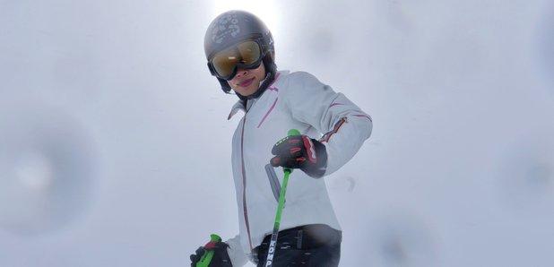 vanessa mae skiing