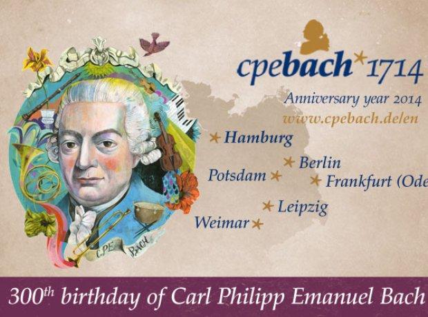 C.P.E. Bach 300 birthday