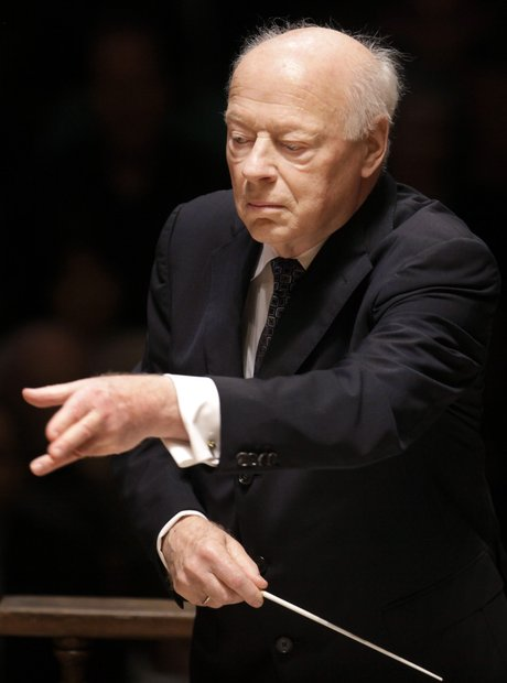 Bernard Haitink conductor Chicago