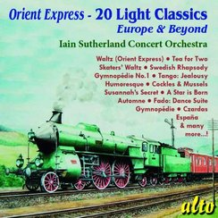 Orient express Iain Sutherland concert orchestra