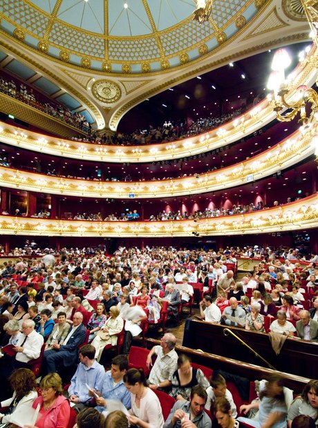 Royal Opera House Covent Garden amphitheatre