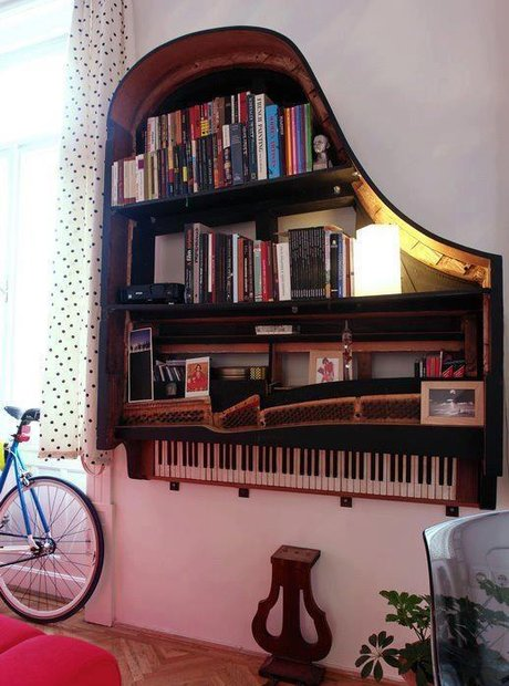 Classical music home decor furniture