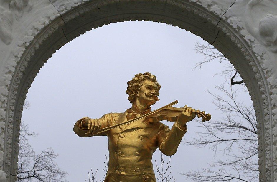 Vienna waltz king Johann strauss