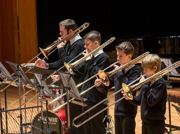 Stopsley High School Brass Group