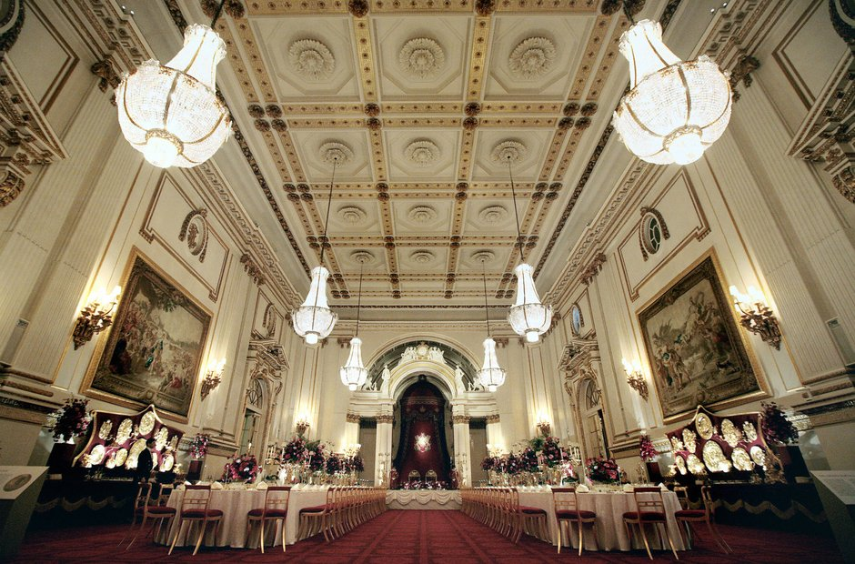 Ballroom Buckingham Palace
