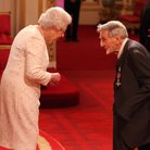 Ernest Tomlinson MBE HM The Queen