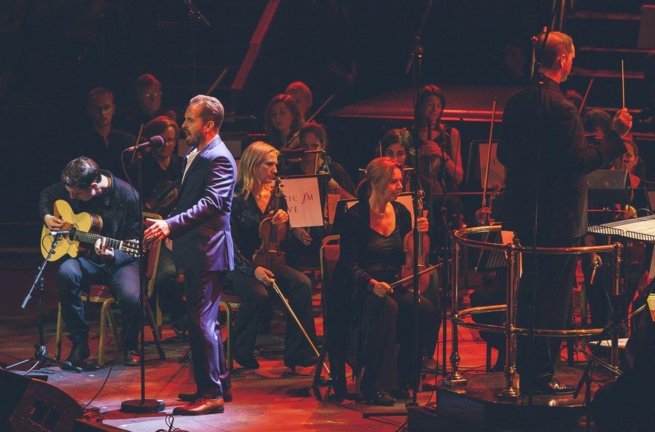 Alfie Boe at Classic FM Live 2014