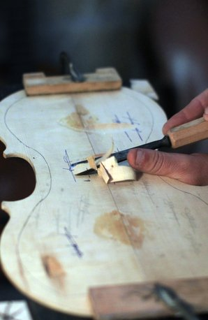 Violin Making - Getty pictures