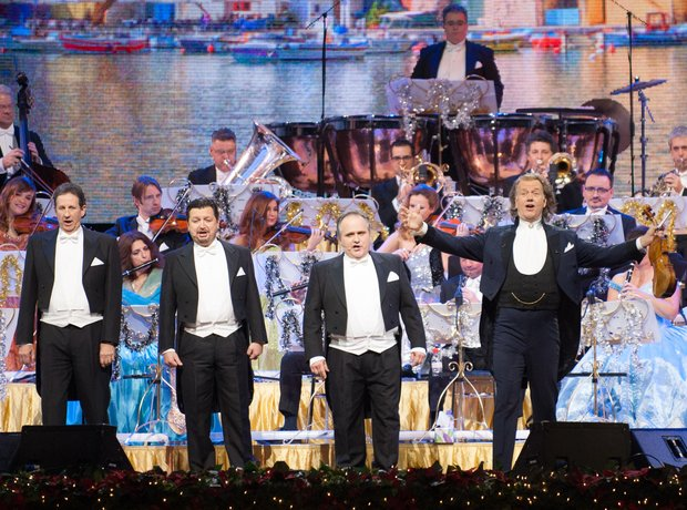 Andre Rieu performs in concert