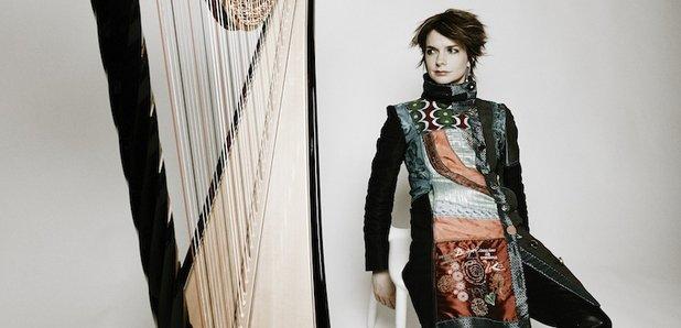 Catrin Finch harpist harp